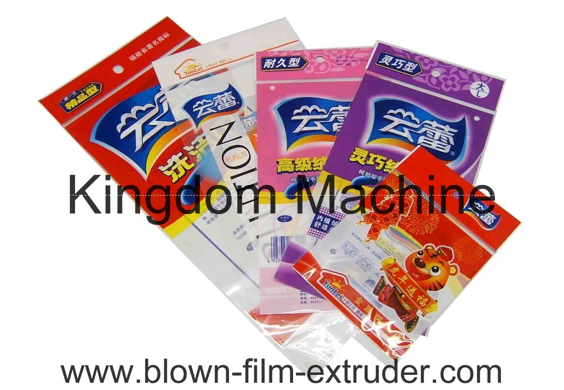 Rotogravure Printing Machine printed plastic bag